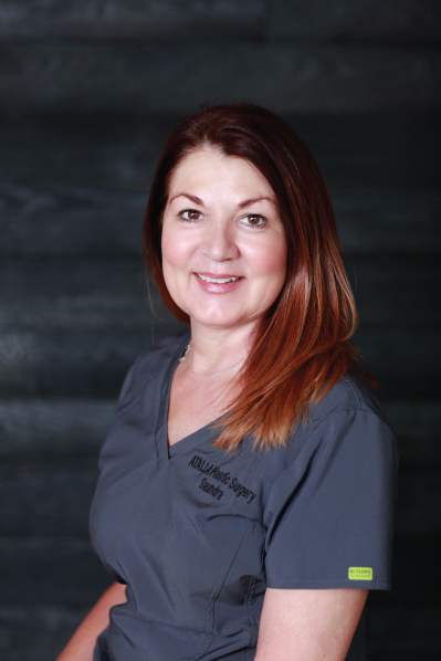 SAUNDRA ANDERSON <br /> clinical aesthetician