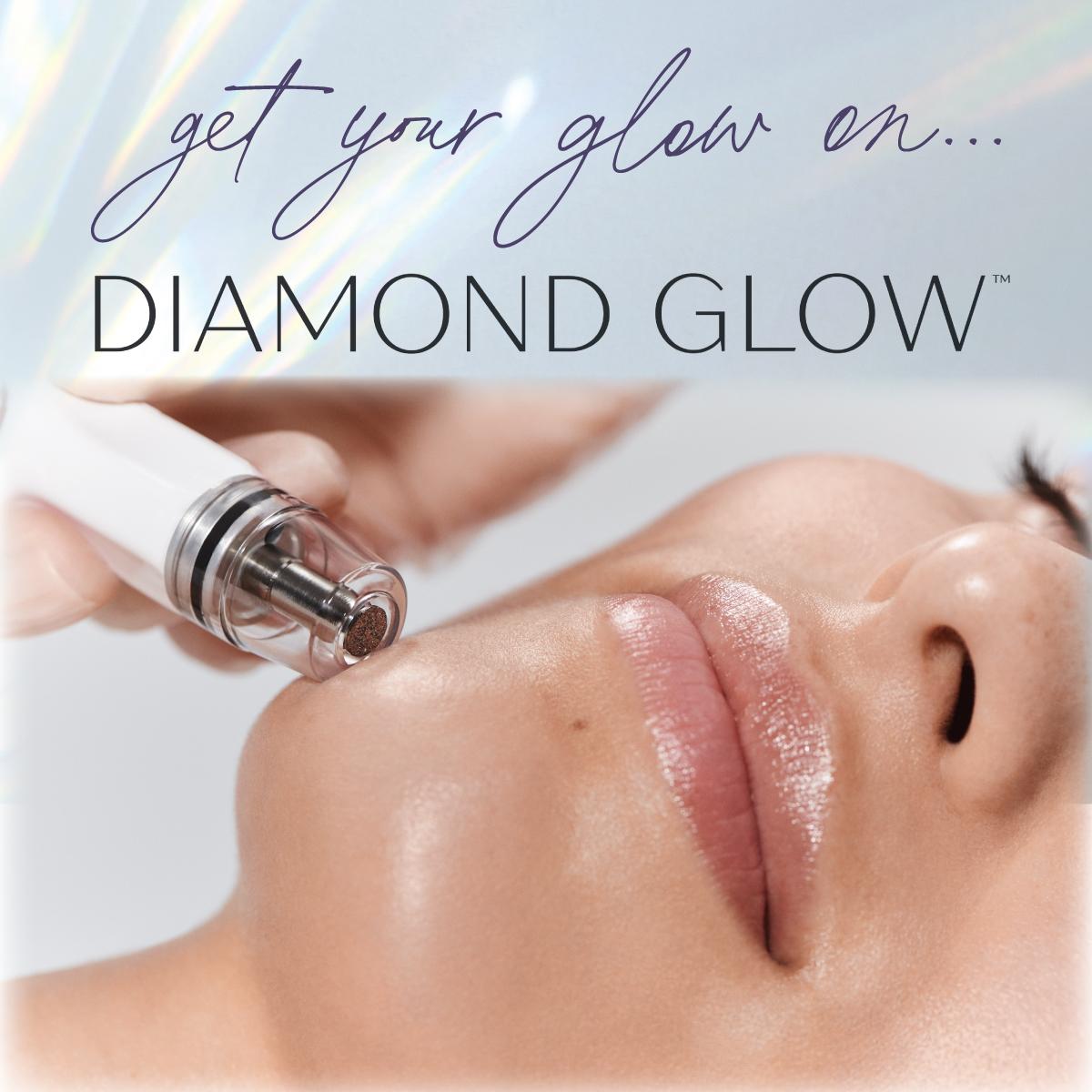 diamond glow get your glow on