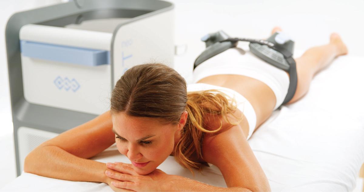 women's abdomen emsculpt neo