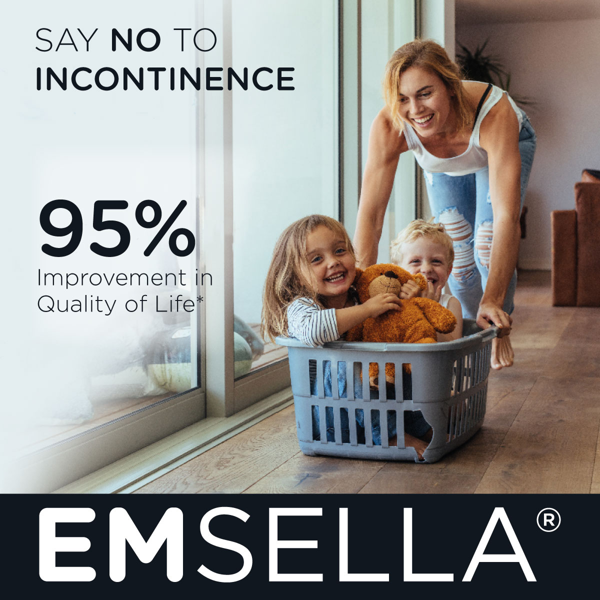 EMSE::A Treatment for Incontinence and Confidence